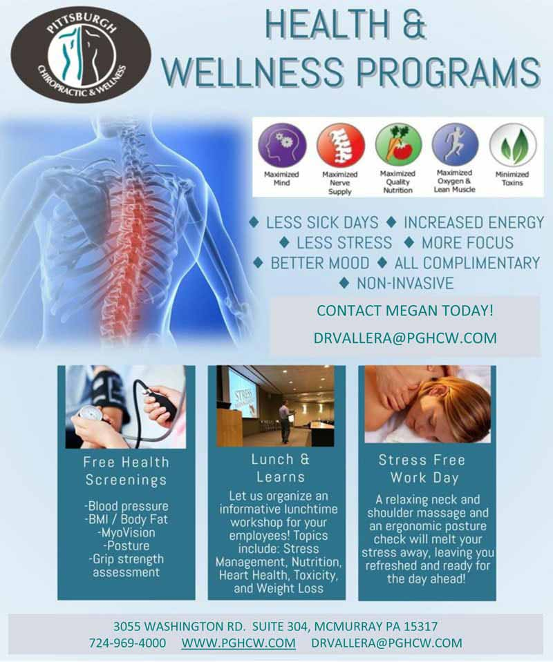 Chiropractic Canonsburg and McMurray PA Health and Wellness Newsletter