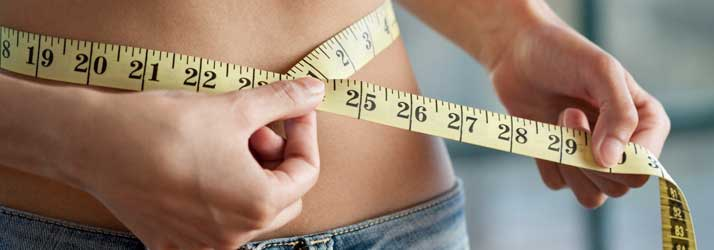 Chiropractic Canonsburg and McMurray PA Woman Measuring Waist