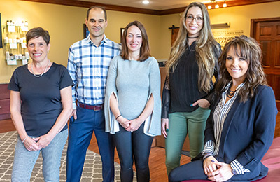 Chiropractic Canonsburg and McMurray PA Office Team